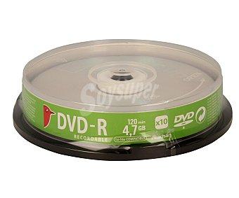 Auchan 10 DVD-R 10 unidades