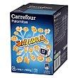 Palomitas saladas para microondas Carrefour Pack de 6 bolsas de 100 g Carrefour