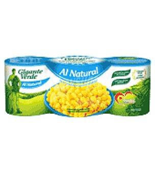 Gigante Verde Maíz dulce al natural Pack de 3x140 g