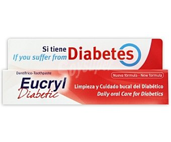 EUCRYL Diabetic Dent. Diabéticos 75 ml