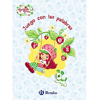 Cuaderno de actividades Tarta de Fresa juego con las palabras +3 años