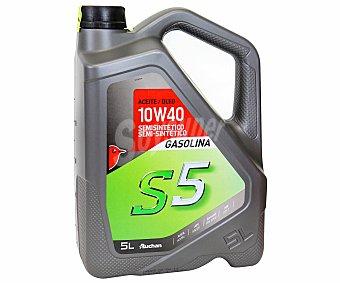 Auchan Lubricante semi sintético para vehículos gasolina 5 Litros
