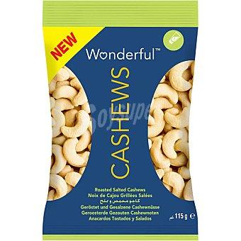 Wonderful Anacardos tostados y salados Envase 115 g