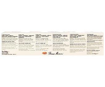 Bonne Maman Confituras Variadas (cereza-fresa-albaricoque-grosella Roja-Frambuesa) 5 unidades de 50 Gramos