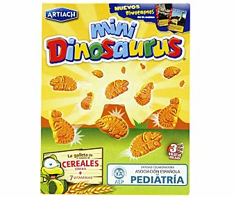 Artiach dinosaurus Minigalletas cereales 120 GRS
