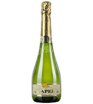 Capel Vino espumoso blanco sin alcohol 75 cl
