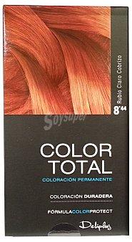 Deliplus Tinte coloracion permanente Nº 08.44 rubio claro cobrizo u