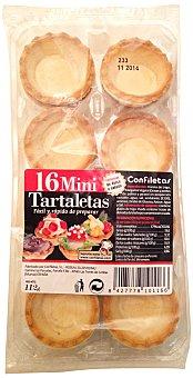 Confiletas Tartaletas mini Caja 16 u, 112 g