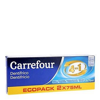 Carrefour Pasta de dientes Pack 2x75 ml