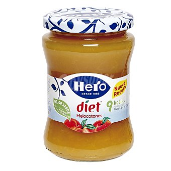 Hero Confitura de melocotón Diet FRASCO 275 gr