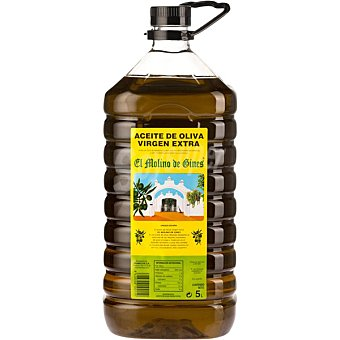 EL MOLINO DE GINES Aceite de oliva virgen extra bidon 5 l