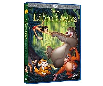 ANIMACIÓN Película en Dvd El libro de la selva, edición Diamante, Clásicos Disney. Género: infantil, familiar, animación. Edad: TP