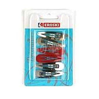 Eroski Clip rana colores Pack 6 unid