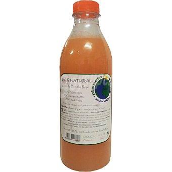 PLANETA VERDE Zumo de pomelo rojo 100% natural Botella 1 l