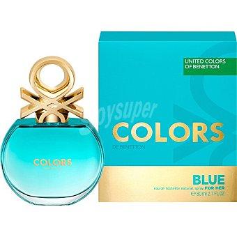 United Colors of Benetton Colors Blue eau de toilette natural femenina Bote 80 ml