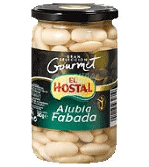 EL HOSTAL GRAN SELECCION GOURMET alubia fabada blanca cocida  frasco 540 g neto escurrido