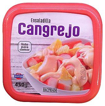 Hacendado Ensaladilla cangrejo refrigerada Tarrina 450 g