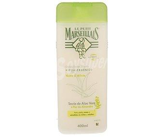 Le Petit Marseillais Gel de ducha hipoalergénico con aloe vera y flor de almendro 400 ml