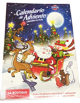 Boutique Praline Chocolatina calendario adviento Paquete de 75 g