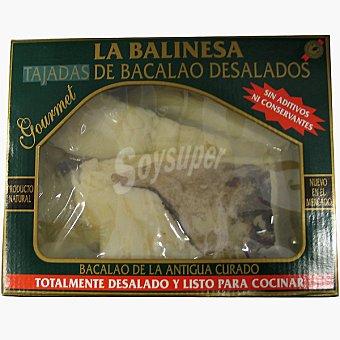 La balinesa tajada de bacalao desalado caja 750 g