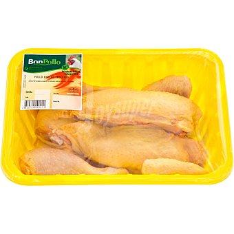 BONPOLLO Pollo en cuartos bandeja 1,2 kg peso aproximado 2 kg