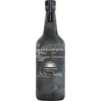 CASAMIGOS Mezcal joven artesano elaborado con 100% agave Oaxaca Botella 70 cl