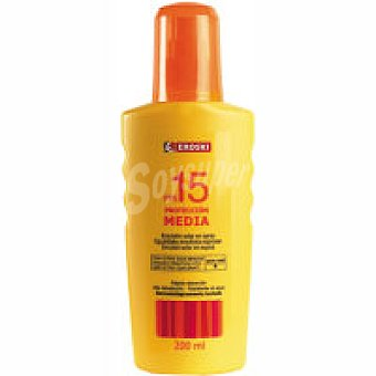 Eroski Spray solar F Spray 200 ml