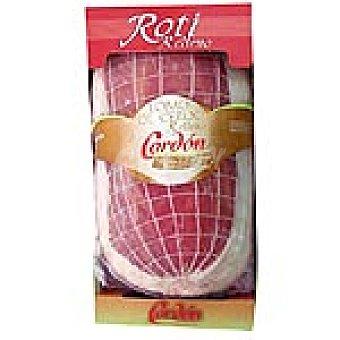 CORDON lomo de cerdo relleno bandeja 1,2 kg