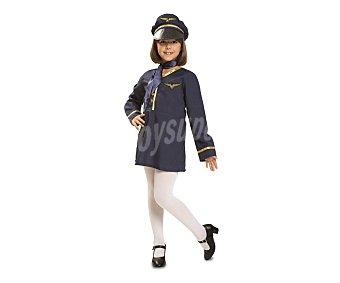 My other me Disfraz infantil Azafata de vuelo, talla 3-4 años ME.