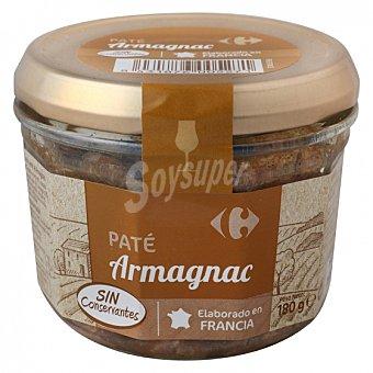 Carrefour Paté al armagnac 180 G 180 g