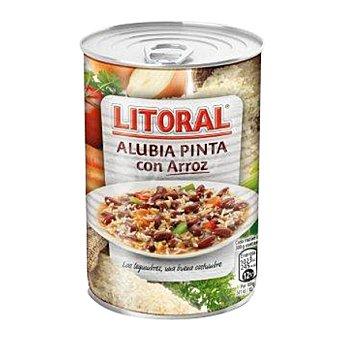 Litoral Alubia pinta con arroz 430 gr
