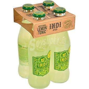 Indico Tónica con limón 100% ecológica pack 4 botellas 20 cl pack 4 botellas 20 cl
