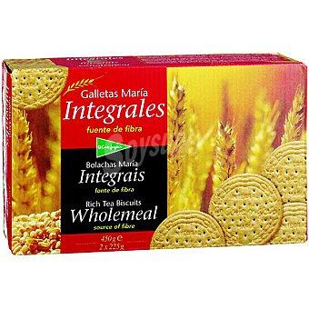 El Corte Inglés Galletas María integrales Caja 450 g
