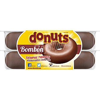 Donuts Bombon estuche 192 g 4 unidades