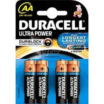 AA LR06 K4 DURACELL Pila alcalina Ultra Power Pack 4 unid
