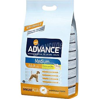 Advance Affinity Alimento de alta gama para perros de raza mediana rico en pollo y arroz Medium Adult Bolsa 7,5 kg