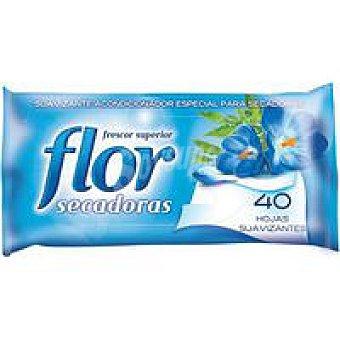 Flor Suavizante para secadoras 40 hojas