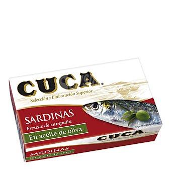Cuca Cuca Sardinas en Aceite de Oliva Lata de 85 g peso escurrido