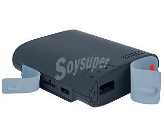 EMTEC POWER CONNECT Adaptador multimedia U600, power bank capacidad de 5200mAh, almacenamiento extra y acceso a archivos multimedia desde dispositivos móviles, punto de acceso wifi, microsd, RJ45, Usb Host,