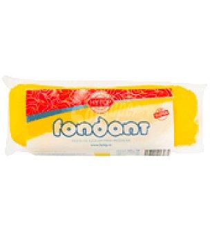 Hy.Top Pasta de azúcar para moldear sin gluten amarillo Fondant 400 g