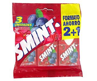 Smint Caramelos Frutas del Bosque 3 unidades x 8g