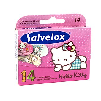 Salvelox Apósitos Hello Kitty Caja 28 u