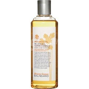 ALVAREZ GOMEZ BALNEARIO gel de baño Aguavital gel integral cuerpo y cabello Envase 300 ml