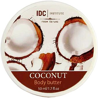 IDC INSTITUTE crema corporal Coco tarro 50 ml
