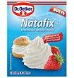 Preparado para hacer montar nata fácilmente 3 sobres Natafix estuche de 30 g Dr. Oetker