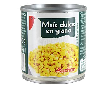 Auchan Maíz dulce 140 gramos