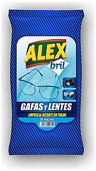 Alex Alex Toallitas Gafas 20 ud