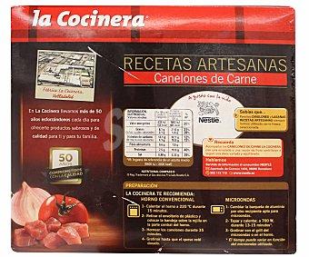 La Cocinera Canelones de carne 1060 g