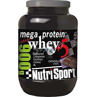 NUTRISPORT Mega Protein Chocolate Proteína de suero lácteo envase 900 g Envase 900 g