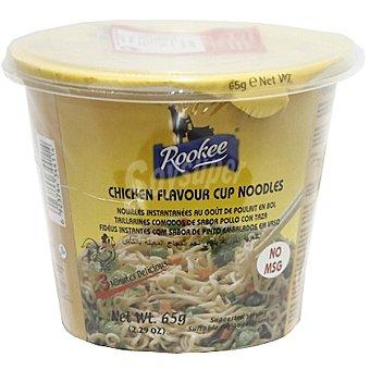 ROOKEE Noodles instantáneos sabor pollo  Vaso 65 g